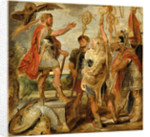 Decius Mus Addressing the Legions by Sir Peter Paul Rubens