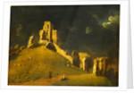 Corfe Castle, Dorset Okehampton Castle by John Inigo Richards