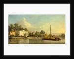 Pope's Villa, Twickenham, London, Samuel Scott, ca. 1702-1772 by Samuel Scott