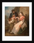 The Wandering Sailor The Ballad Seller by Henry Singleton