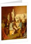 Interior of an Academy: The Critics by William Stewart
