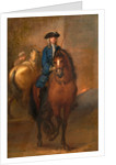 A Young Gentleman Riding a Schooled Horse by John Vanderbank