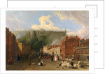 A View of Thames Street, Windsor, Windsor Eton London Carriage by Swann Inn George Vincent