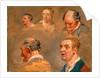 Studies of Jacky Turner and the Reverend Charles Hope's Gardener by James Ward