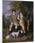 Portrait of a Sportsman with His Son A Sportsman with his Son and Dogs by Francis Wheatley