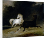 Horses in a Thunderstorm by Thomas Woodward