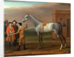 Lamprey, with His Owner Sir William Morgan, at Newmarket Lamprey at Newmarket by John Wootton