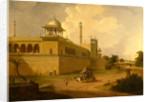 Jami Masjid, Delhi India by Thomas Daniell