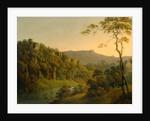 Matlock Dale, looking toward Black Rock Escarpment by Joseph Wright of Derby