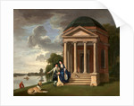 David Garrick and his wife by his Temple to Shakespeare, Hampton Mr and Mrs Garrick by the Shakespeare Temple at Hampton by Johan Joseph Zoffany