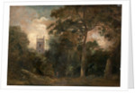 A Church in the Trees Stoke-by-Nayland Church by John Constable