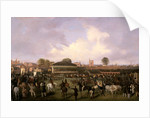 Lord Westminster's Cardinal Puff, with Sam Darling Up, Winning the Tradesman's Plate by William Tasker