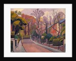 Cambrian Road, Richmond by Spencer Frederick Gore