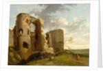 West Gate of Pevensey Castle, Sussex by John Hamilton Mortimer