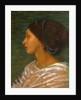 Head of a Mulatto Woman (Mrs. Eaton) Head of a mulatto woman by Joanna Boyce Wells