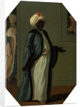 Kisler Aga, Chief of the Black Eunuchs and First Keeper of the Serraglio by Francis Smith