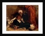 Seated Turk A Turk Enjoying a Siesta by Richard Parkes Bonington