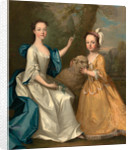 Young Women with a Lamb by Thomas Hudson