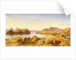 Philae, Egypt by Edward Lear
