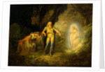 Prospero, Miranda and Ariel by Anonymous