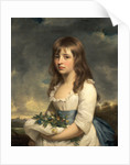 Portrait of a Girl An Unknown Girl by Sir William Beechey