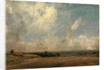 A View from Hampstead Heath (?), London by John Constable