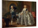 David Garrick and Mrs. Pritchard in Benjamin Hoadley's The Suspicious Husband by Francis Hayman