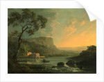 Landscape with Fishermen on a Lake by William Hodges