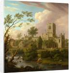 Kirkstall Abbey, Yorkshire by George Lambert