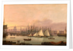 The Port of London by Thomas Luny