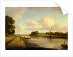 View on the River Thames at Richmond View on the River Thames at Richmond (?), London by William Marlow