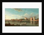 Thames at Lambeth Palace, London by Anonymous