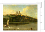 A View of the Cathedral and City of Lincoln from the River, Joseph Baker of Lincoln by Of Lincoln