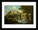 Ludlow Castle with Dinham Weir, from the South-West, Samuel Scott, ca. 1702-1772 by Samuel Scott