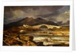 Tummel Bridge, Perthshire Dummel Bridge Dummel Bridge, Fifeshire, Painted in 1812 Highland Bridge by Joseph Mallord William Turner