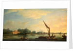 The Thames at Chelsea by Thomas Whitcombe