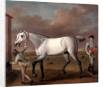 The Duke of Hamilton's Grey Racehorse, 'Victorious,' at Newmarket by John Wootton