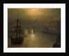 Harbor Scene by John Atkinson Grimshaw