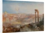 Modern Rome - Campo Vaccino by Joseph Mallord William Turner