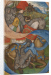 Initial S: The Conversion of Saint Paul by Pisanello