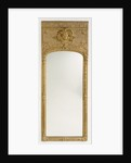 Antique frame with modern mirror glass by Anonymous
