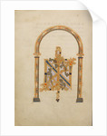 Decorated Monogram IN by Anonymous