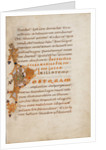 Decorated Initial P by Anonymous