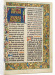Decorated Initial A by Anonymous