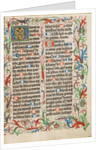 Decorated Initial G by Anonymous