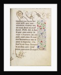 Decorated Text Page by Nicolas Spierinc