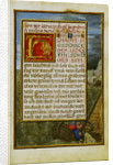 Border with Jonah Cast into the Sea by Simon Bening