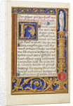 Decorated Text Page by Simon Bening