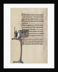 Initial M: David's Theft of the Spear and Chalice by Bute Master