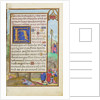Border with Moses and the Brazen Serpent by Simon Bening